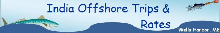 India Offshore Trips &                             Rates