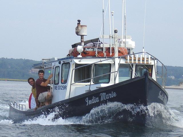 Captain satch deep sea fishing striped bass fishing for Deep sea fishing maine